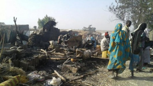 ВНигерии отавиаудара погибли неменее 100 мирных граждан